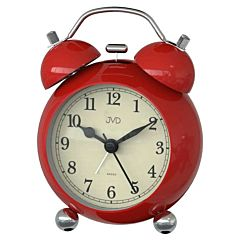 Rode retro bellen wekker SRP2809-2J