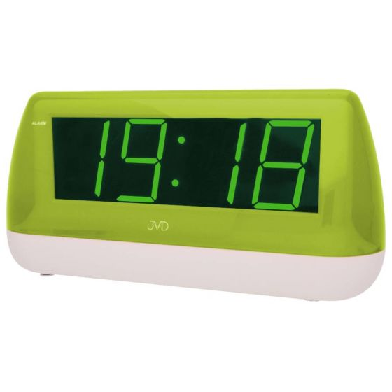 Digitale netstroom wekker groen-wit SB1823-2J