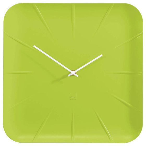 Groene design wandklok WU143SI