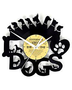 Lp klok met honden
